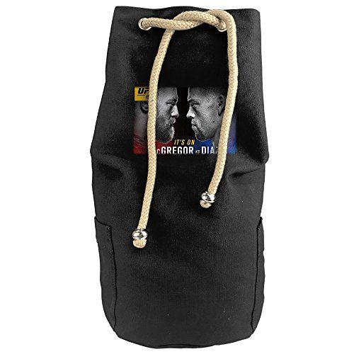 Cool Conor Mcgregor Vs Nate Diaz Poster Drawstrings Gym Backpack Bag