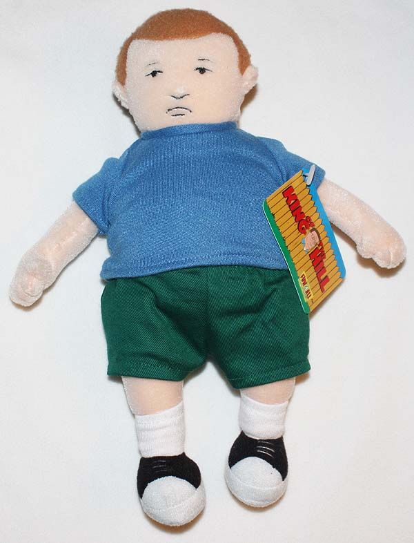 Baby Rocker Chair Side Chairs With Arms For Living Room Bobby Hill Plush Doll | Toys Pinterest