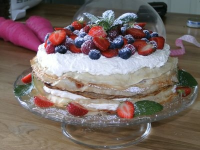 Michelle´s Passion & Lantliv i Häggvall: Tårtor