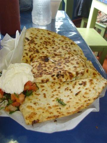 Quesadilla de Camarones | Mexican Cuisine | Pinterest