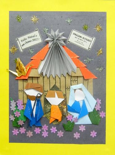 Presepio em Origami, Marcio Jorge Galvao