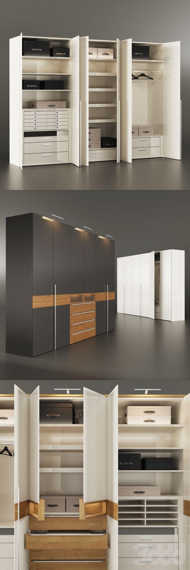 3d модели: Шкафы - Платяной шкаф Hülsta METIS PLUS