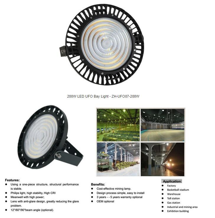 High Quality UFO LED High Bay Light from Weixingtech LumiLED and Meanwell Driver CE RoHS FCC certificate 30000LM, 5 years warranty. Contact us by email if any interest, chris@weixingtech.com😁 #highbaylight #led #ledhighbaylight #weixingtech #lumiled #meanwell #ufolamp #ufoledlight