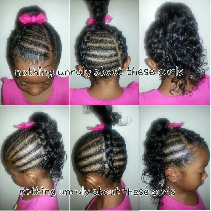 Wondrous 1000 Images About Cute Hairstyles For Little Girls On Pinterest Hairstyles For Women Draintrainus