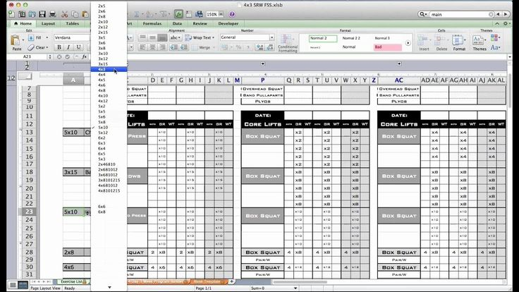 Personal Trainer Workout Plan Template Beautiful Pt Fitness Excel Workout Template From Excel Workout Template Workout Plan Template Personalized Workout Plan