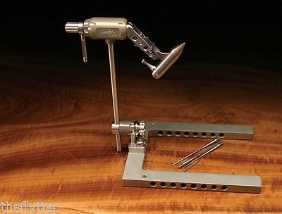 MARC PETITJEAN'S   MASTER SWISS VISE  with  discount tool offer -- Fly Tying