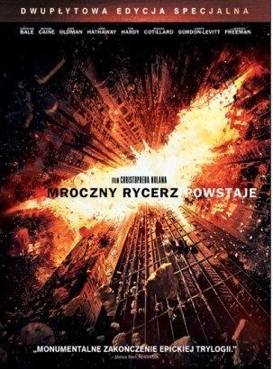 Mroczny Rycerz Powstaje. Edycja specjalna (2 DVD) - Christopher Nolan