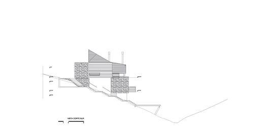 En Construcción: Kalasur Apart Hotel 3 estrellas + Vivienda unifamiliar,Corte Vista