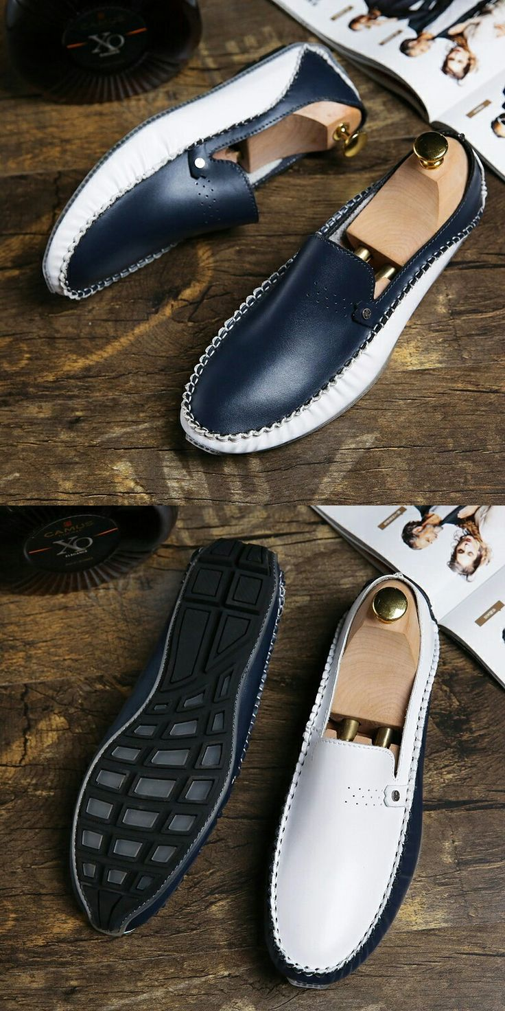 >> Click to Buy << Prelesty Big Size 38-46 Brand Autumn Causal Shoes Men Loafers Leather Moccasins Men Driving Shoes Flats For Man Soft Lightweight