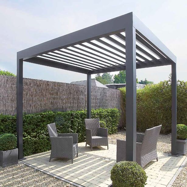 pergola aluminium en kit maison design. Black Bedroom Furniture Sets. Home Design Ideas