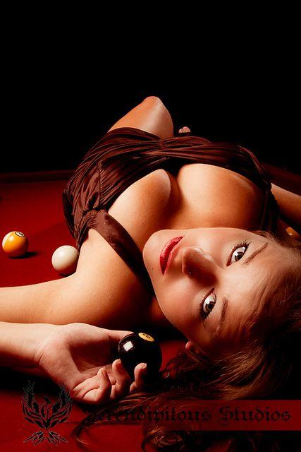 Pool hall temptation