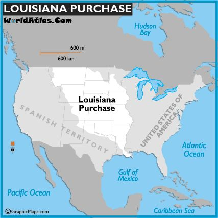 a history and effects of the louisiana purchase Censusgov/schools history | page 1 the impact o the louisiana purchase teacher version activity description students will examine population density maps of the united states during the 1800s.
