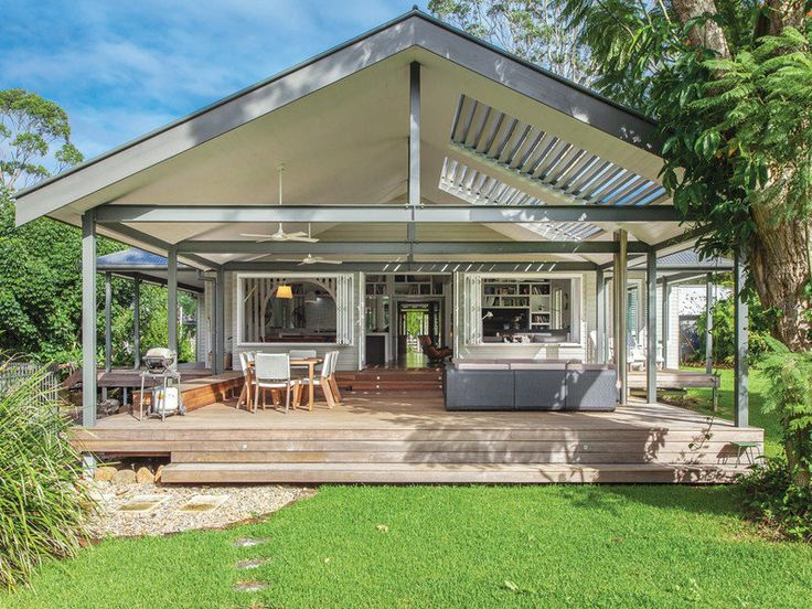 "Hi there! Welcome to another edition of Stunning Sunday! This time I have this lovely stylish home with old world charm which I found for sale in Bangalow NSW (near Byron Bay, but inland). ""The large open plan living, dining, kitchen and study space creates a relaxed warmth while the quality appliances and fittings make …"