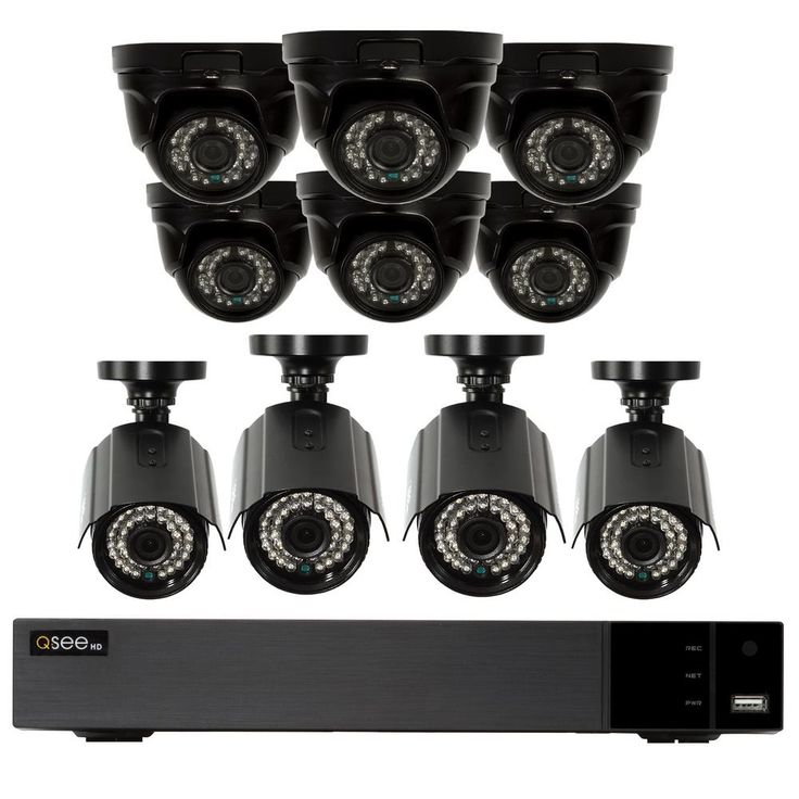 16-Channel 1080p 2TB Indoor/Outdoor Surveillance DVR System with (6) HD Dome Cameras and (4) HD Bullet Cameras