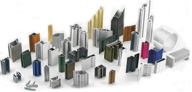 Various colors aluminium profile