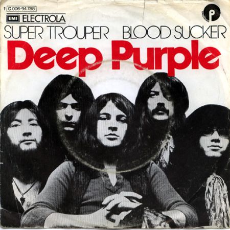 Deep Purple Super Trouper - Blood Sucker album cover