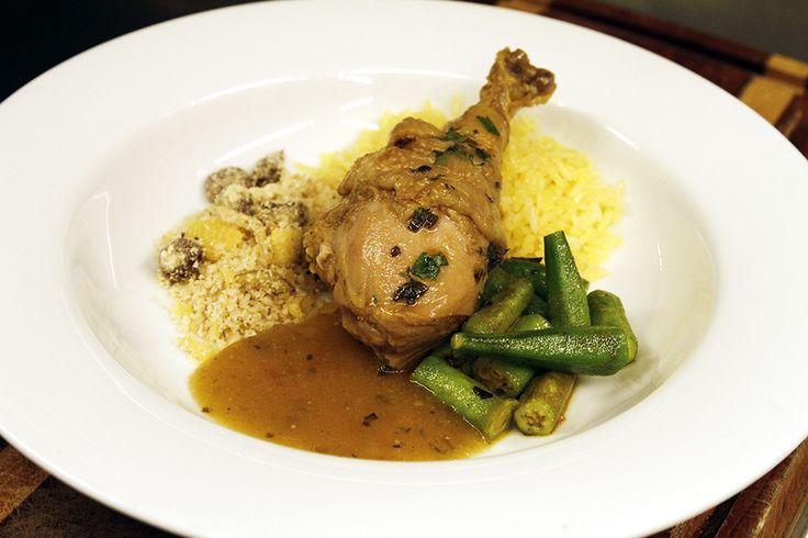 Veja a receita de galinhada do chef Alex Atala,, premiado pelo Guia Michelin 2015.