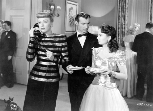 Eve Arden, Zachary Scott & Ann Blyth -  Mildred Pierce(1945)