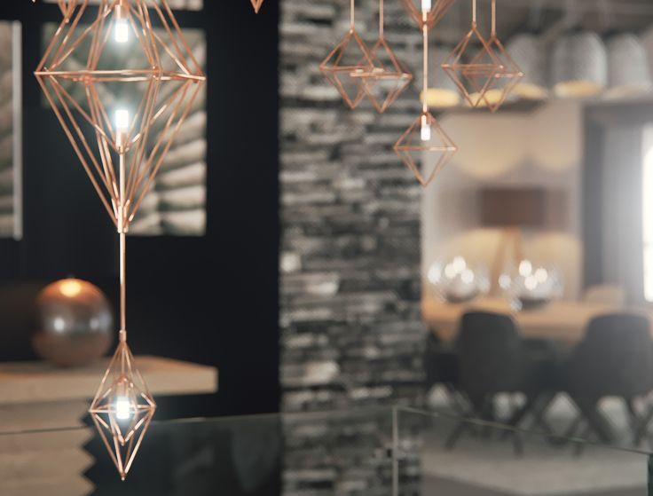 luminaire - projet immobilier Megeve - construction de luxe-chalet sur piste- luxury chalet in Megeve-