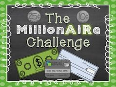 Millionaire Club is guaranteed to have your students reading more than you ever thought possible. Students will be eager and motivated to move up to the next level in Millionaire Club. Every 10 points, aka 100,000 dollars, students win different privileges and prizes! This competitive Accelerated Reader program will have your students meeting and exceeding their goals! $2.00