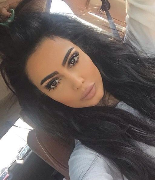 Wearing Lilly Ghalichi lashes in 'Paris' ❤️