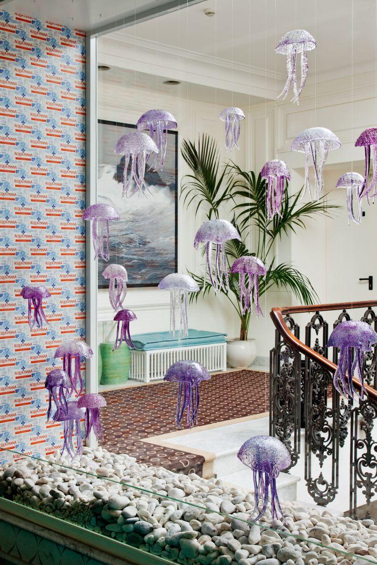 Octopus Installation  #capritiberiopalace #capri #italy #luxuryboutiquehotel