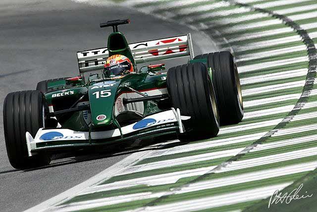 2003 Antonio Pizzonia, Jaguar R4