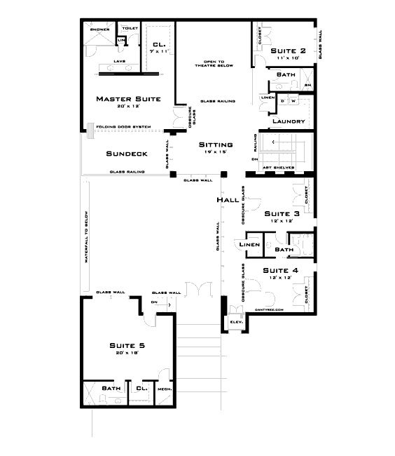 Modern Luxury Home Plans 17 best floor plan images on pinterest | modern floor plans