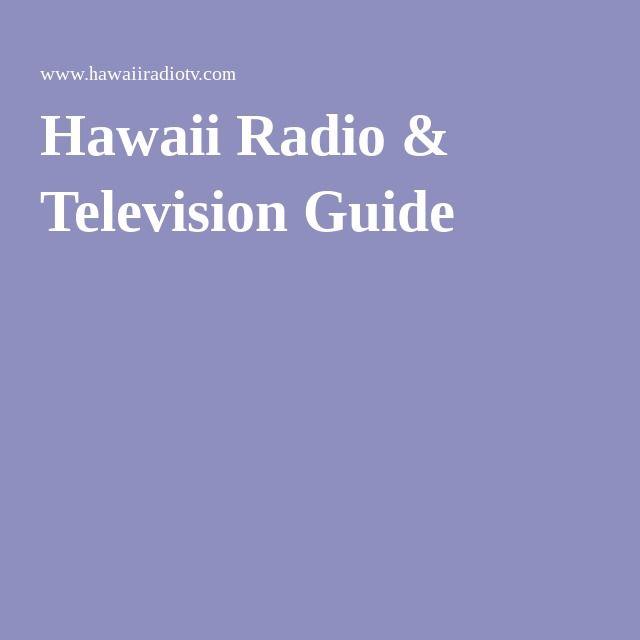 Hawaii Radio & Television Guide