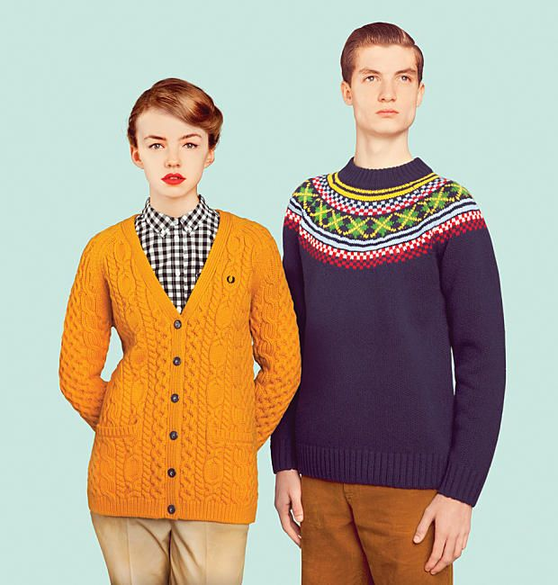 Fred Perry et le British Knitting : retour aux sources