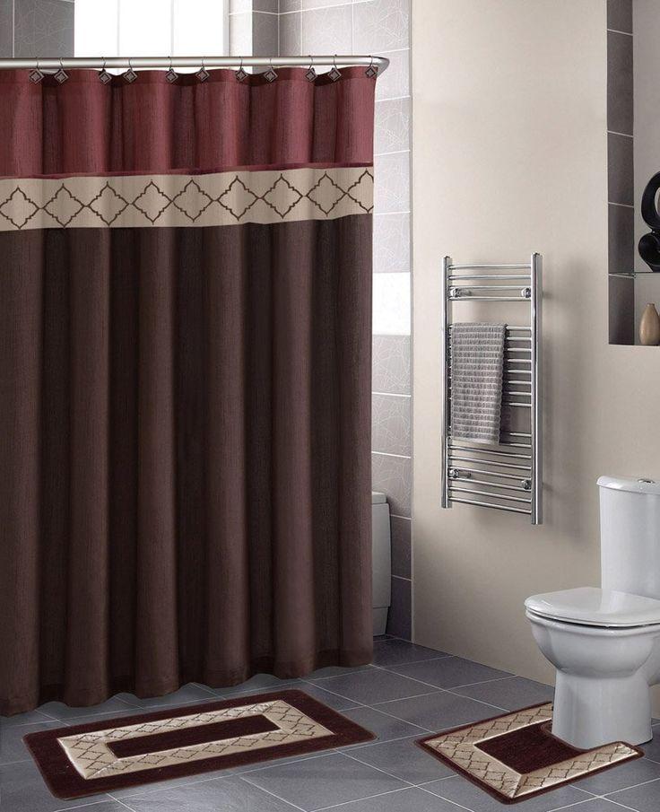 Burgundy bathroom decor 2020 in 2020 burgundy bathroom