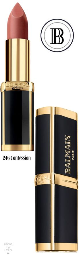 Balmain x L'Oréal Paris Collection 246 Confession
