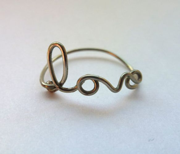 love ring <3: Wire Rings, Trav'Lin Lights, Love Rings, Lights Handmade, Necklaces Jewelry, Gold Rings, The Wire, Engagement Rings, Anna The Russian
