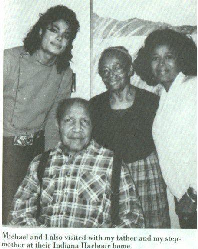 Michael, His Grandfather Prince (father of Katherine Jackson).