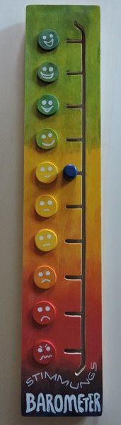 Weiteres - Stimmungsbarometer aus Holz - ein Designerstück von Kinderhaus-laden-wurzen bei DaWanda