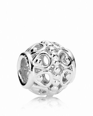 PANDORA Charm - Sterling Silver A Cloud's Silver Lining Bloomingdale's