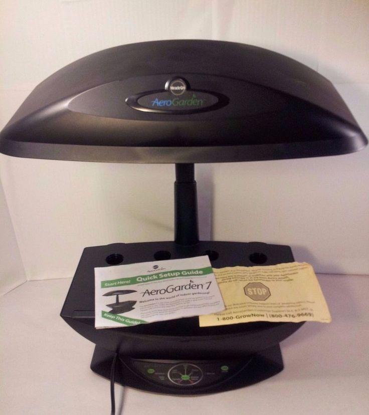 Aerogarden 7 Pod Indoor Hydroponic Grow System Herb Veggie 400 x 300