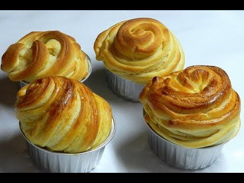 CRUFFIN - NEW TREND ♥ HOW TO MAKE CRUFFIN ♥ Original Cruffin Recipe ♥ Tasty Cooking - YouTube