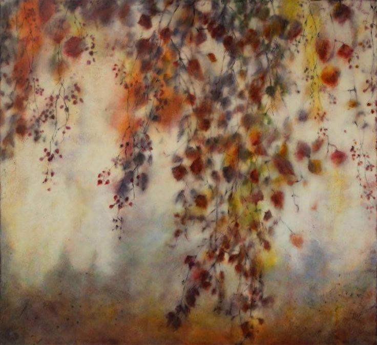 Oil paintings and photo encaustic works by Joyce Gehl.