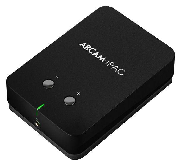 Arcam rPAC -DAC-kuulokevahvistin.