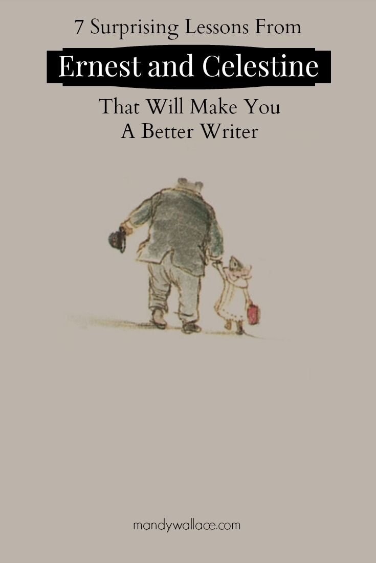 7 ways Ernest and Celestine will make you a better writer