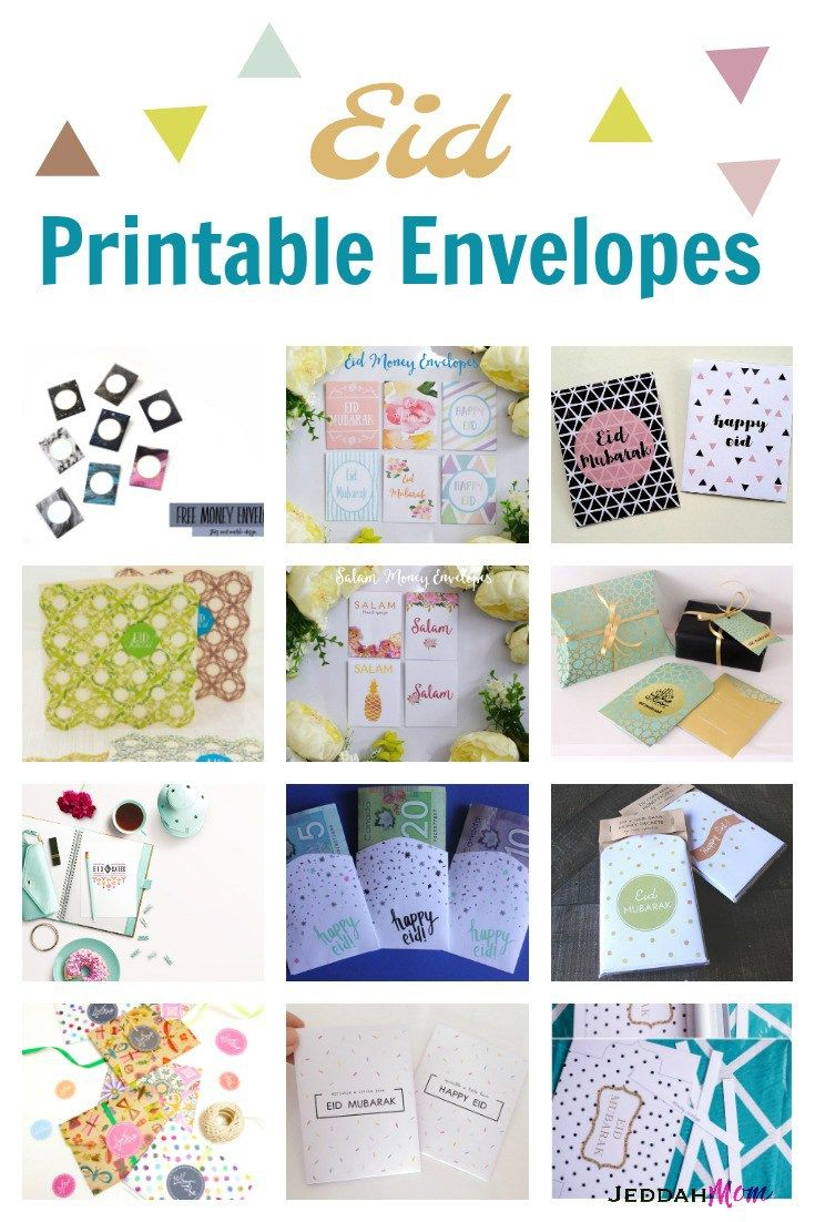 A complete list of the best Free Printable Eid Envelopes online.