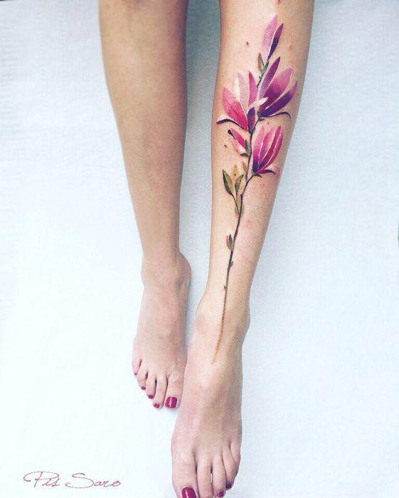 30 hermosos tatuajes inspirados en la naturaleza ¿Cuál es tu favorito?