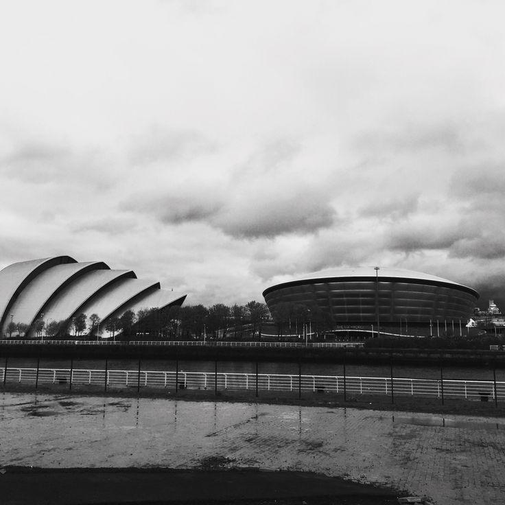 Gloomy Glasgow.