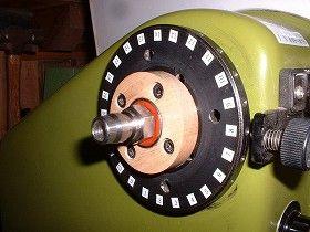 木工旋盤用の自作バキュームチャック