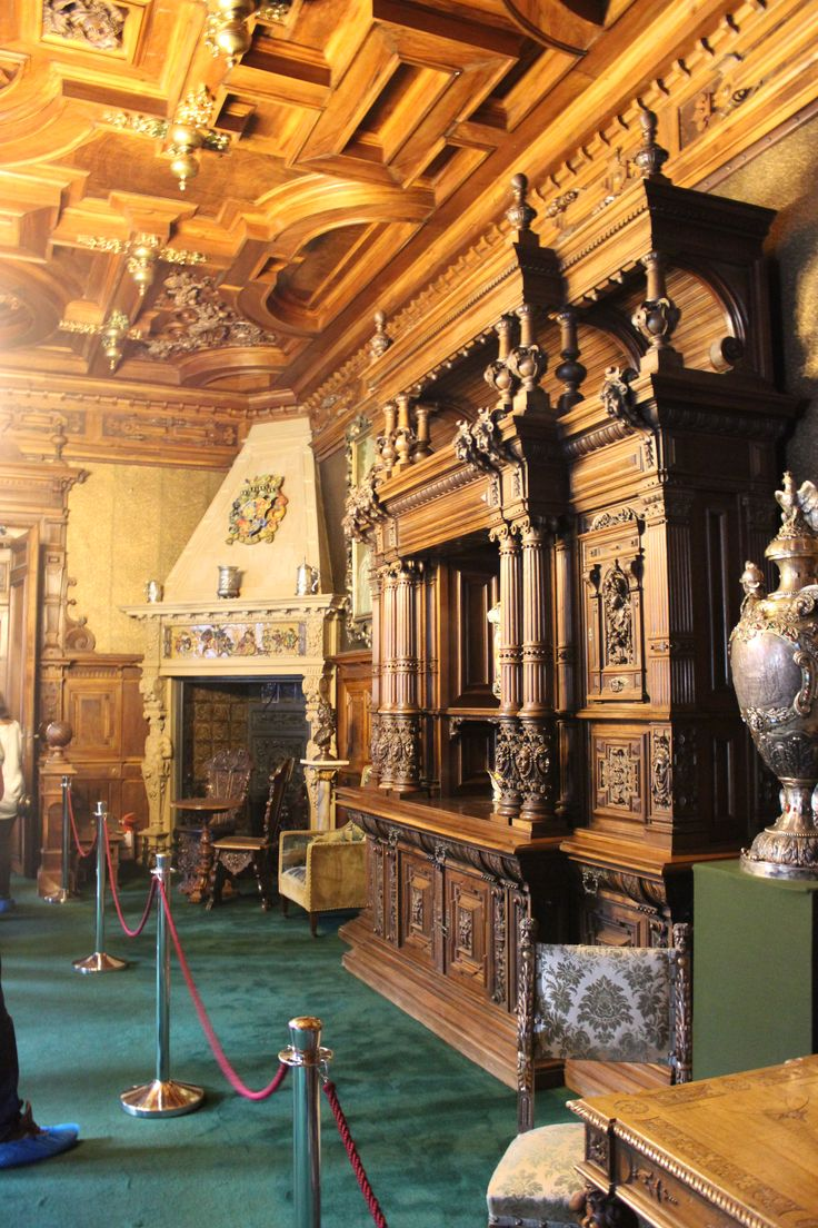 Peleș Castle (inside), Sinaïa