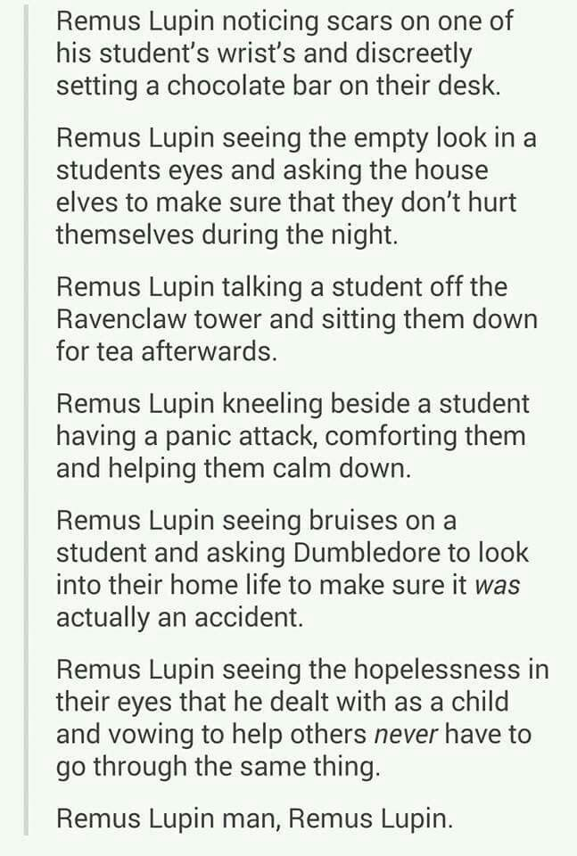 :) love remus lupin always have always will