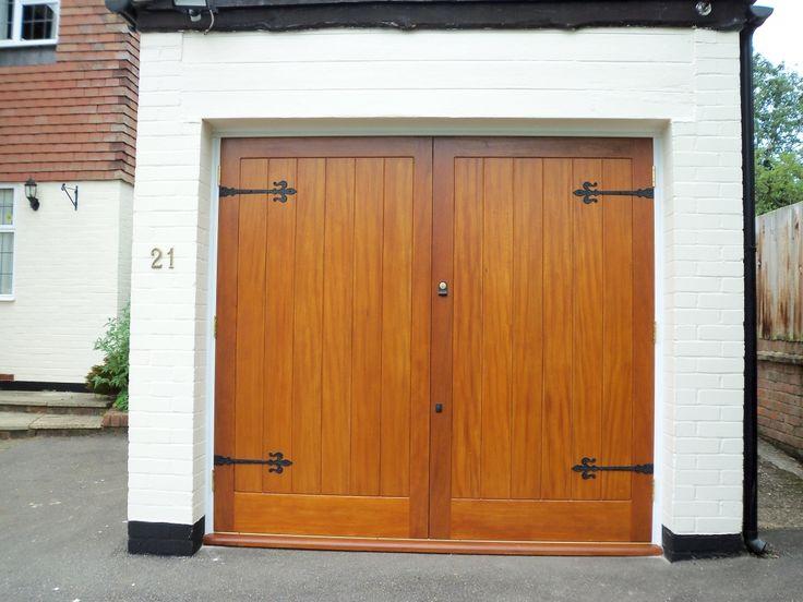 Best 25 double garage door ideas on pinterest double for Best wood for garage doors