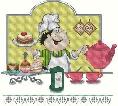 Схема вышивки кулинарный техникум скачать бесплатно