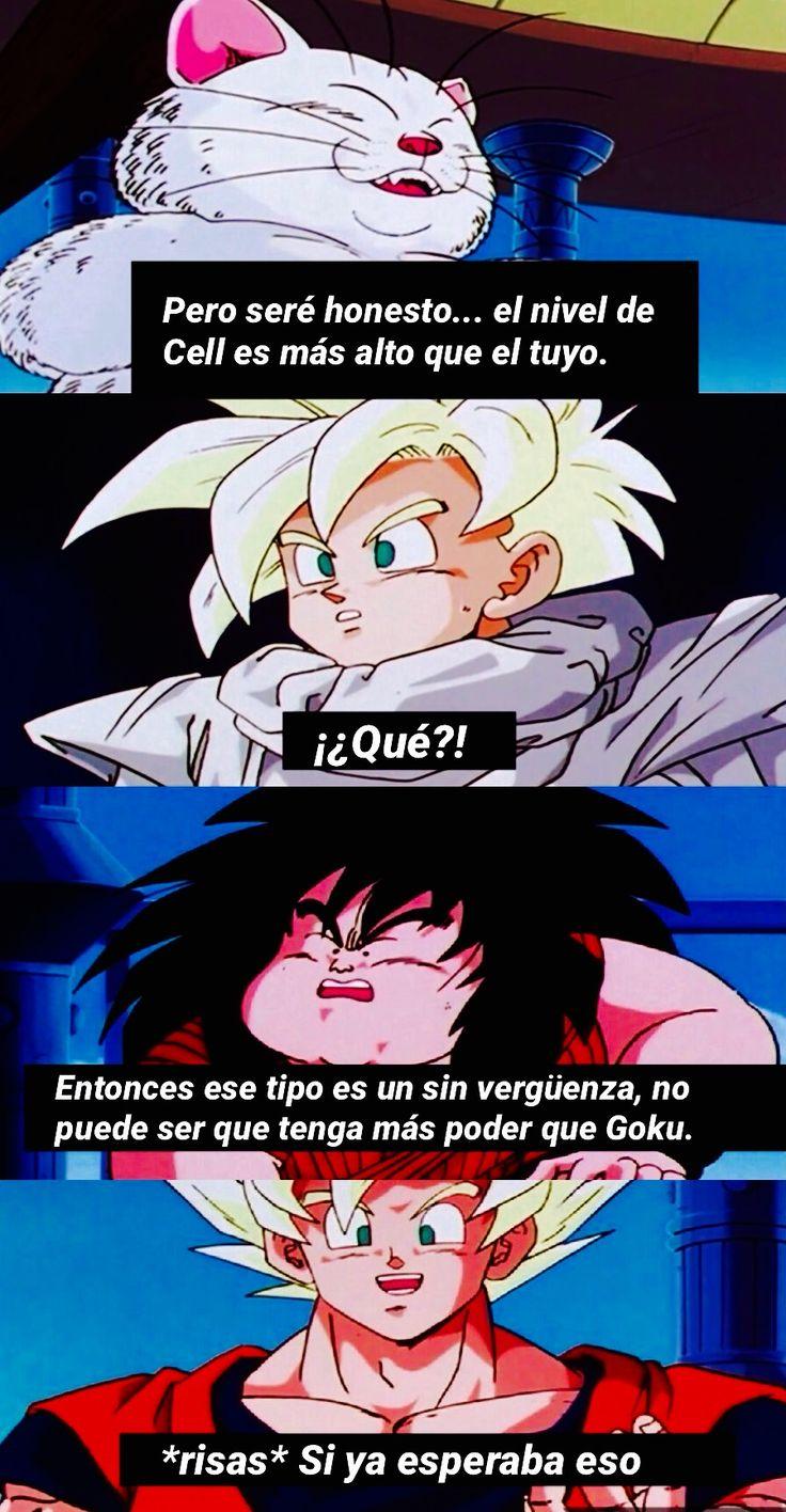 Dragon Ball Z: Saga de Cell. Goku pregunta al maestro Karin sobre su nivel de poder comparado con el de Cell. (Latino)